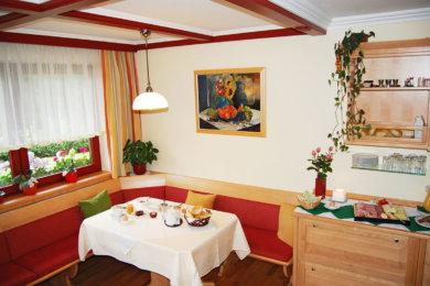 Frühstücksraum im Haus Kössler – Ferienwohnungen & Zimmer in Radstadt, Salzburger Land, Ski amadé