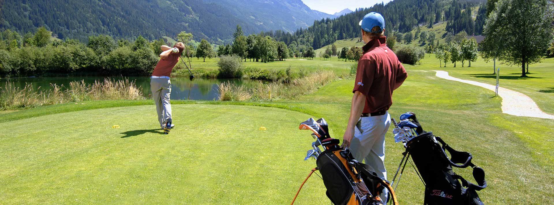 Golfurlaub in Radstadt, Golfpauschalen Ferienhaus Kössler