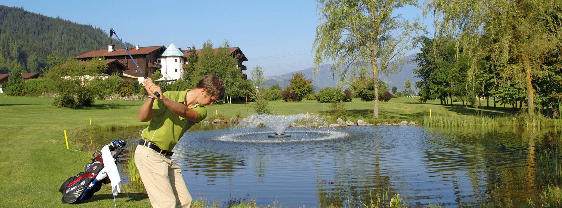 Golfpauschalen im Ferienhaus Kössler in Radstadt, Salzburger Sportwelt