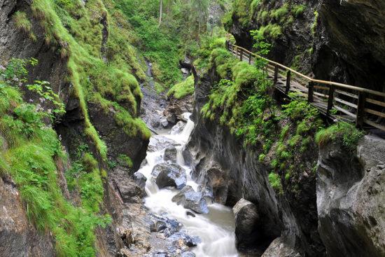 Kitzlochklamm - Ausflugsziel im Salzburger Land
