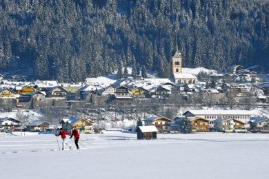 Langlaufen im Winterurlaub in Radstadt, Salzburg