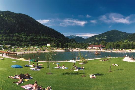 Naturbadesee Eben - Ausflugsziel im Salzburger Land