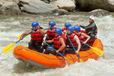 Rafting im Sommerurlaub in Radstadt, Salzburger Land