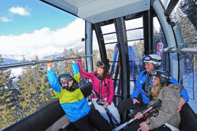 Skifahren in Ski amadé, Skigebiet Radstadt
