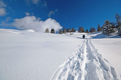 Skitouren im Winterurlaub in Radstadt, Salzburg