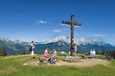 Wandern im Sommerurlaub in Radstadt, Salzburger Land